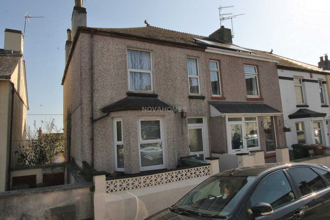Thumbnail Flat for sale in Evelyn Street, St Budeaux, Plymouth