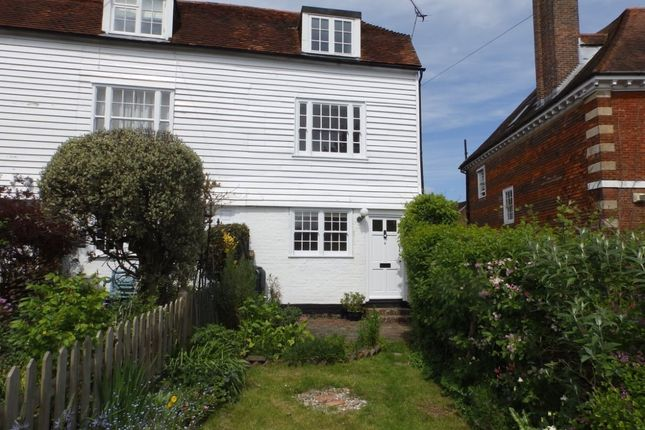 Thumbnail Terraced house to rent in High Street, Ticehurst, Wadhurst