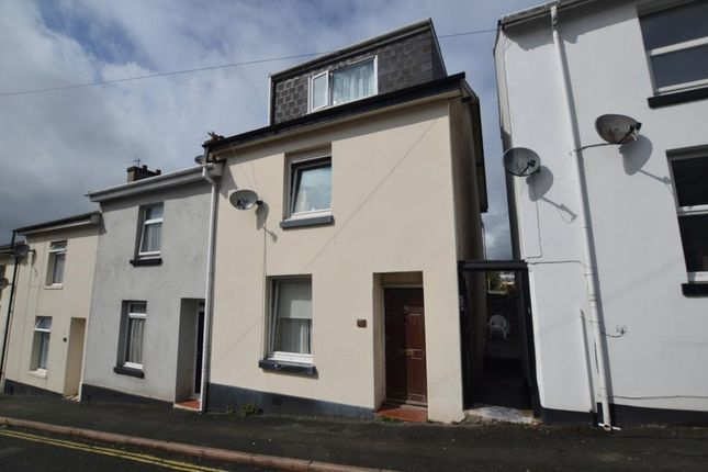 Thumbnail End terrace house to rent in Cavern Road, Ellacombe, Torquay, Devon