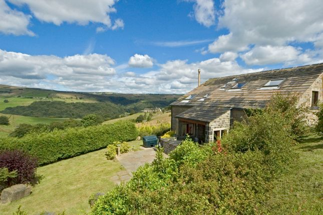 Thumbnail Barn conversion for sale in Burnt Acres Lane, Erringden, Hebden Bridge