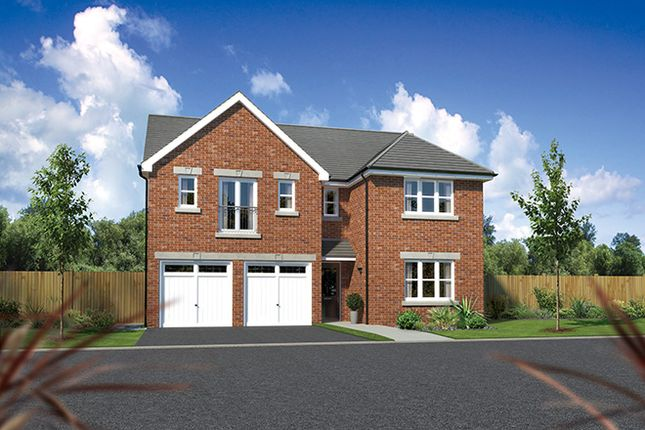 "Thumbnail Detached house for sale in ""Kingsmoor"" At Arrowe Park Road, Upton, Wirral CH49, Upton, Wirral,"