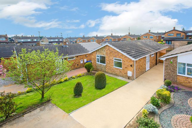 Thumbnail Detached bungalow for sale in Brooksdale Close, Kettering