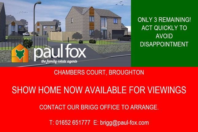 Detached house for sale in High Street, Broughton, Brigg