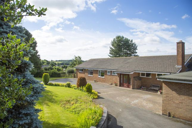Thumbnail Detached bungalow for sale in Wood Lane, Horsley Woodhouse, Derbyshire