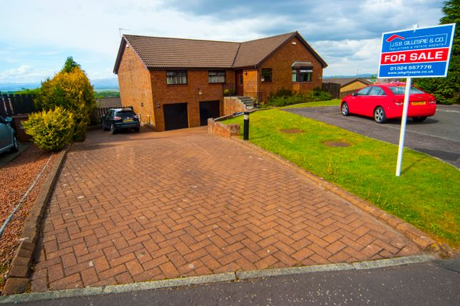 Thumbnail Detached bungalow for sale in Easton Drive, Shieldhill