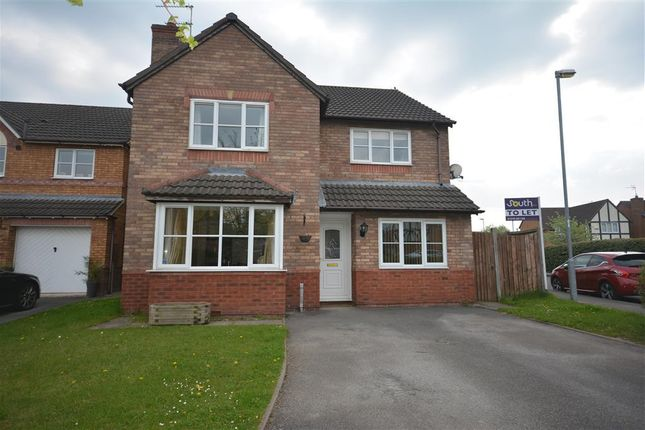 Thumbnail Detached house to rent in Dexter Way, Middlewich