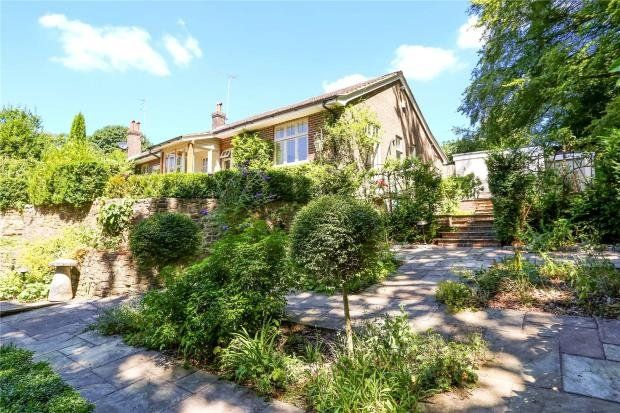 Thumbnail Detached bungalow to rent in Hill Road, Grayshott, Hindhead