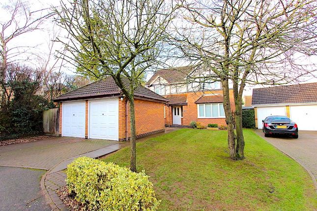 Thumbnail Detached house for sale in The Huntings, Kirby Muxloe, Leicester