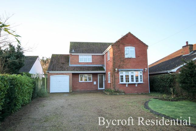 Thumbnail Detached house for sale in Main Road, Filby, Great Yarmouth