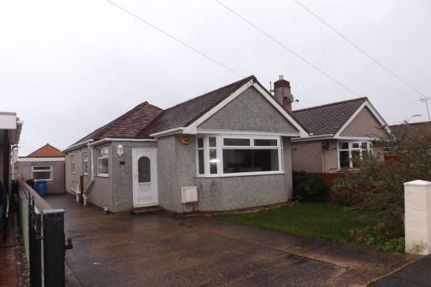 Thumbnail Detached bungalow to rent in Rosehill Road, Rhyl