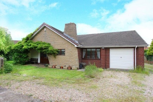 Thumbnail Bungalow to rent in Common Road, Thorpe Salvin, Worksop