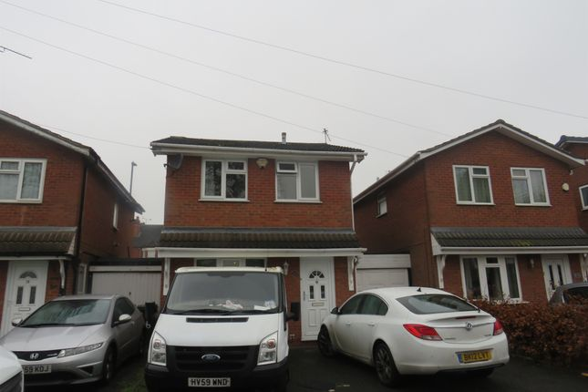 Thumbnail Link-detached house for sale in Pembury Avenue, Longford, Coventry