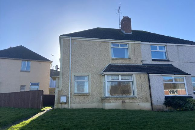 Thumbnail Semi-detached house to rent in St Lawrence Avenue, Hakin, Milford Haven