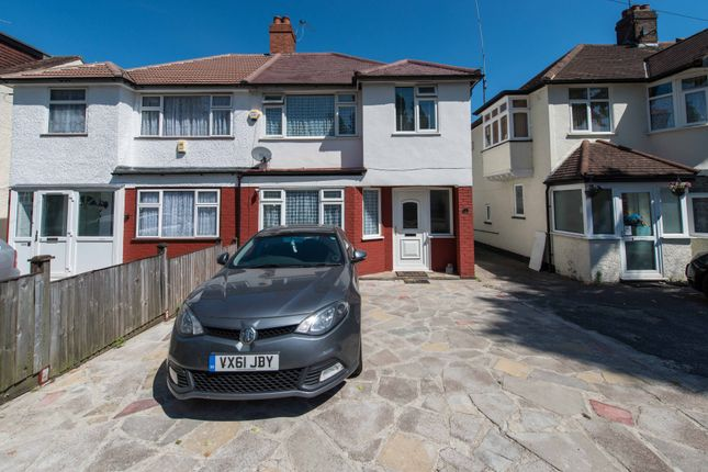 Thumbnail Semi-detached house for sale in Collyer Avenue, Croydon
