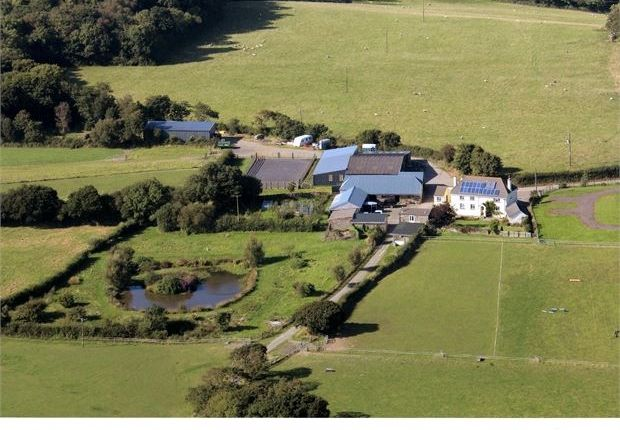 Thumbnail Farmhouse for sale in Lydacott, Barnstaple, Devon.