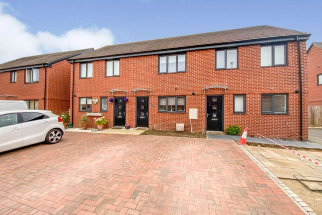 Thumbnail Terraced house for sale in Crofter Close, Gunthorpe, Peterborough