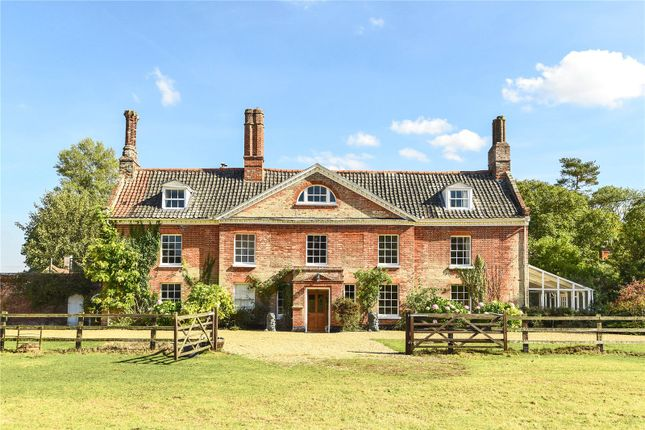 Thumbnail Detached house for sale in Rokeles Hall, Watton Green, Watton, Norfolk