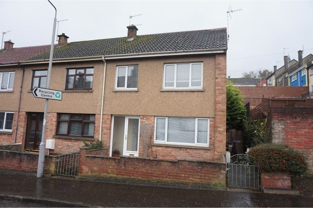 Thumbnail End terrace house for sale in Ladywell Road, Maybole