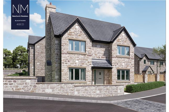 Thumbnail Detached house for sale in Plot 10, Newchurch Meadows, Higher Cloughfold, Rossendale