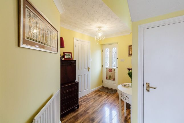 Thumbnail Detached house for sale in Godiva Road, Leominster