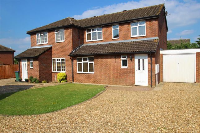 Thumbnail Semi-detached house to rent in Deerfield Close, Buckingham