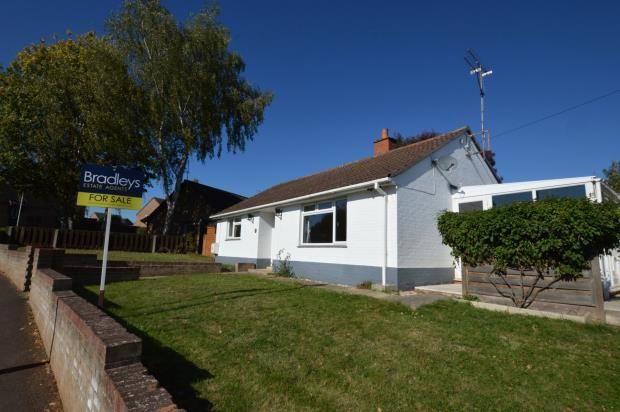 Thumbnail Detached bungalow for sale in St. Michaels Crescent, Taunton, Somerset