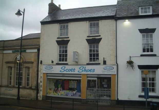 Thumbnail Commercial property for sale in Market Place, Coleford