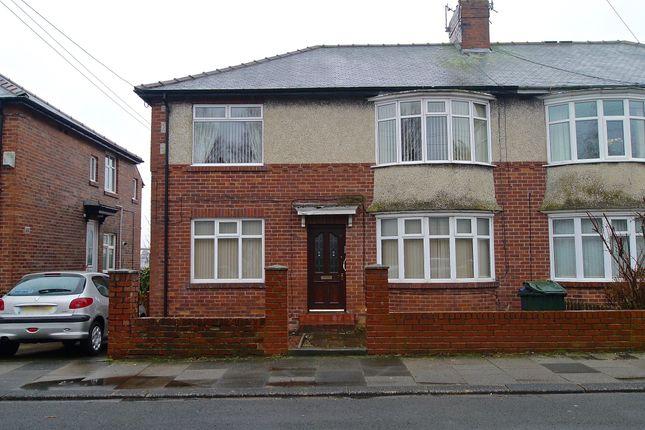 Thumbnail Flat to rent in Cornel Road, High Heaton, Newcastle Upon Tyne