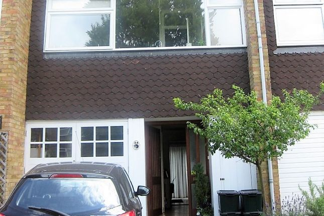 Thumbnail Town house to rent in Haddon Court Milton Road, Harpenden