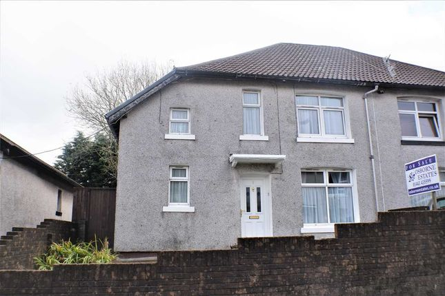 Semi-detached house for sale in Milbourne Street, Tonypandy