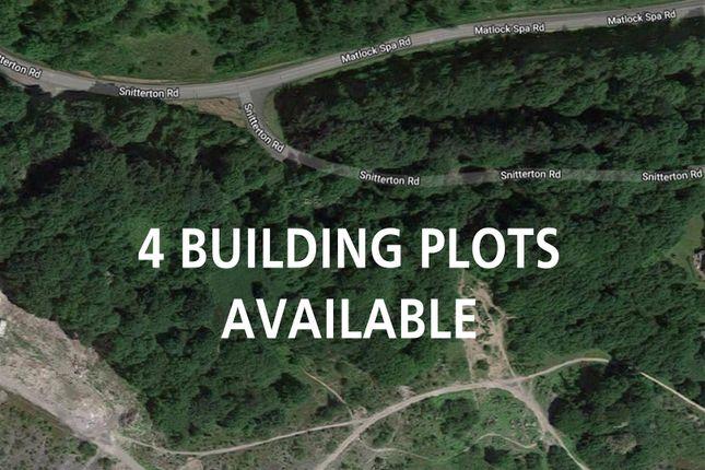 Thumbnail Land for sale in Snitterton Road, Matlock