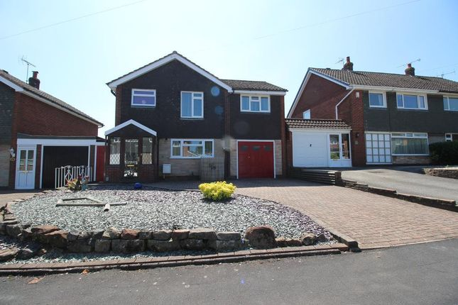 Thumbnail Detached house for sale in Meadow Way, Stone, Staffordshire