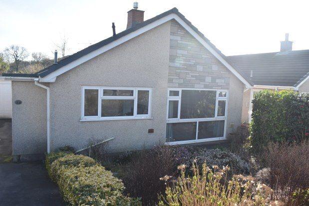 Thumbnail Bungalow to rent in Maes Y Dderwen, Carmarthen