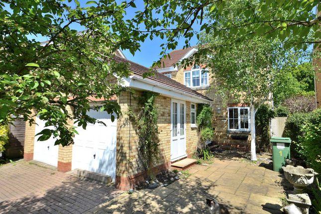 Thumbnail Detached house for sale in Flaxbourne Court, Isaacson Drive, Wavendon Gate, Milton Keynes