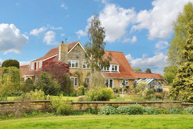 Thumbnail Detached house for sale in Hall Lane, Welbourn, Lincoln