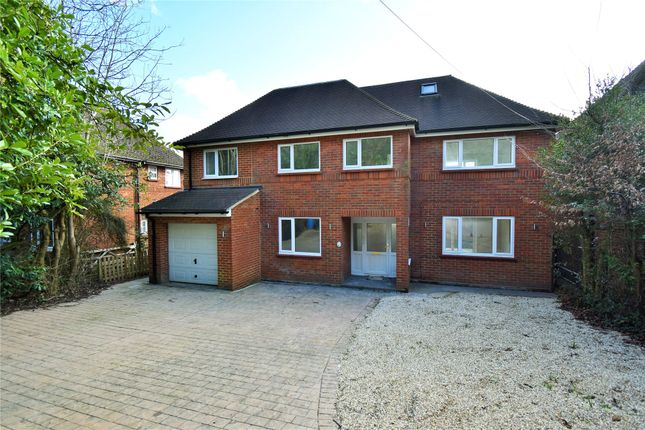 Thumbnail Detached house for sale in Fernhill Lane, Blackwater, Camberley, Hampshire