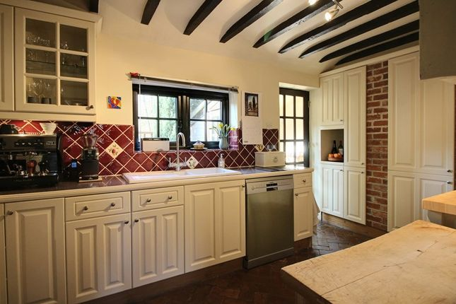 Thumbnail Semi-detached house for sale in Toprow, Wreningham, Norwich