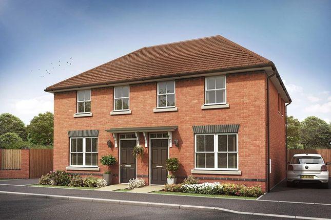 "Thumbnail End terrace house for sale in ""Archford"" at Cann Lane South, Appleton, Warrington"