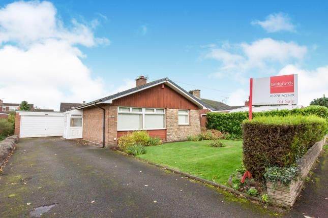 Thumbnail Bungalow for sale in Middlewich Road, Sandbach, Cheshire