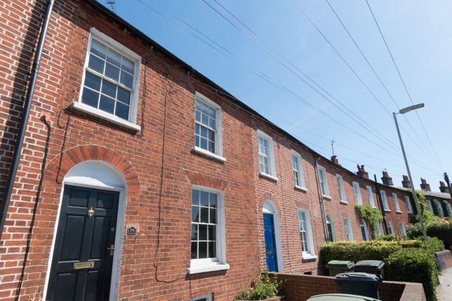 Thumbnail Terraced house to rent in Shaw Road, Newbury