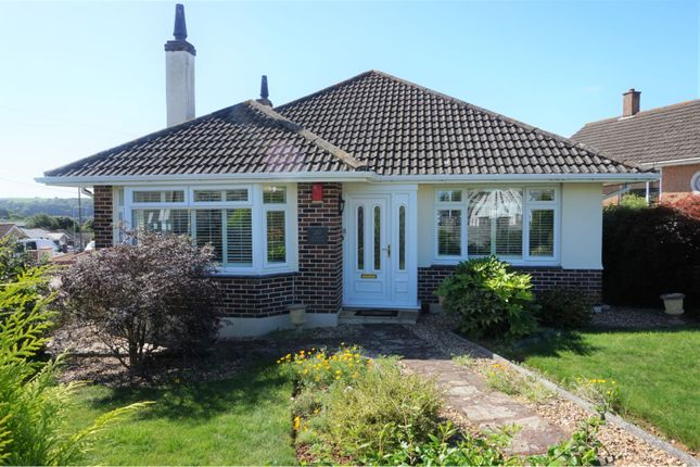 Thumbnail Bungalow for sale in Furzehatt Park Road, Plymouth
