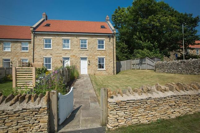 Thumbnail End terrace house for sale in Pickering Road West, Snainton, Scarborough