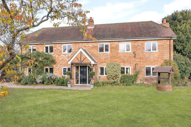 Thumbnail Detached house for sale in Reading Road, Padworth Common, Reading