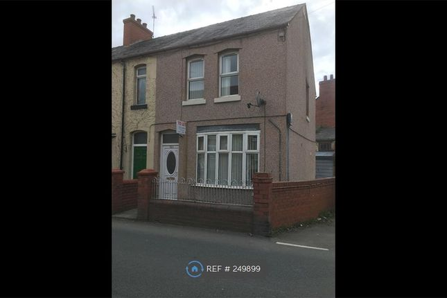 Thumbnail End terrace house to rent in Hall St, Wrexham