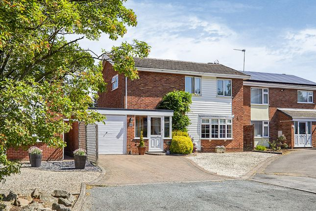 Thumbnail Detached house for sale in Manor Close, Burbage, Hinckley, Leicestershire