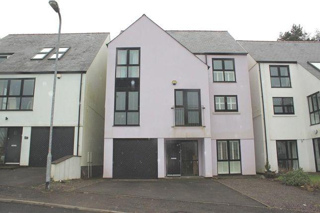 Thumbnail Detached house for sale in Duffryn Oaks Drive, Pencoed, Bridgend