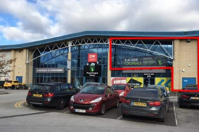 Thumbnail Leisure/hospitality to let in Part First Floor, Powerleague Derby, Pride Park, Derby