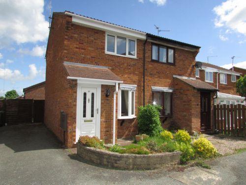 Thumbnail Semi-detached house to rent in Hawkshead Way, Gunthorpe