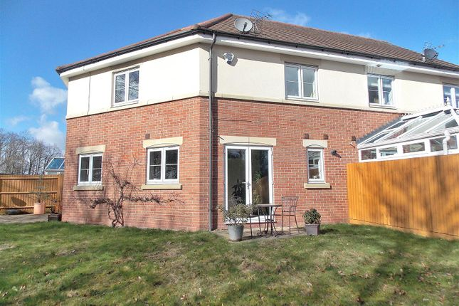 Thumbnail Semi-detached house for sale in Tudor Court, Draycott, Derby