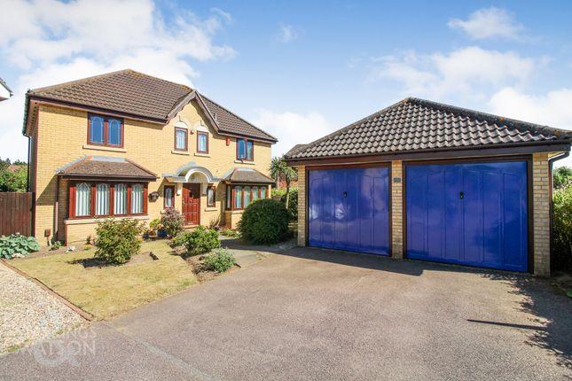 Thumbnail Detached house for sale in Winstanley Road, Dussindale, Norwich